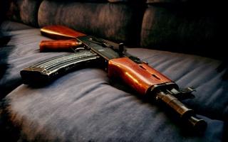 machine, AK 47