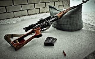Sniper rifle, SVD