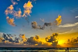 nature, sea, clouds