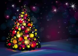 Нимализм, svátek, vánoční strom, dekorace, závěje, sníh