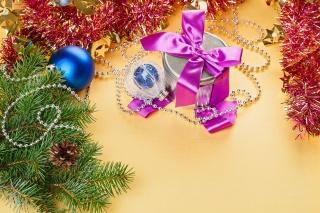 svátek, dárek, vánoční strom, šišky, Hračky, box