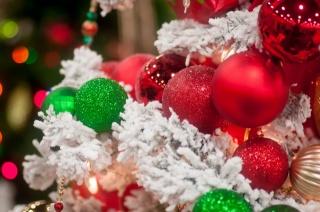 vánoční strom, Hračky, korálky