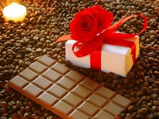 milk chocolate, tile, gift, gift