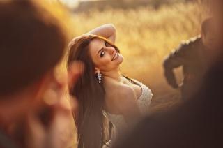 наречена, дівчина, весілля, танець, макро, фото, позитив, фон, люди