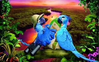 Rio 2, Brazil, Rio de Janeiro, Brazil, the macaws, Blu, Jewel