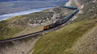 склад, поїзд, локомотив, поїзд, рельси, рейки, природа