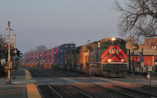 поїзд, рейсі, вантажний