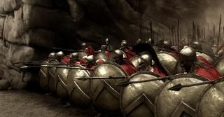 фільм, 300 Спартанців, чоловіки, воїни, відвага, оборона, сила духу, ущелина, списи, щити