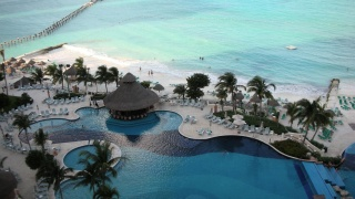 Mexico, resort, the rest, the beach, the ocean, the house, pool, trees, beauty