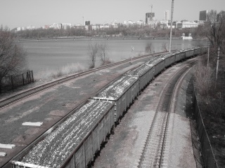 залізничний, поїзд