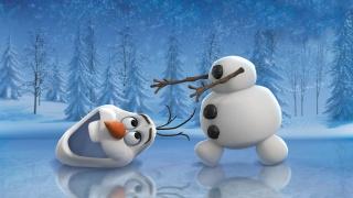 snowman, ice, mood
