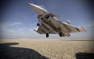 аэродром, взлетная, полоса, Истребитель, самолет, взлёт, фото, тень, фотографа, мощь