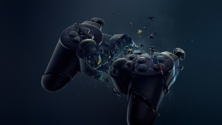 joystick, 3D, beautiful, comp, background, game