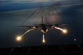самолет, ввс, США, геркулес, вечер, вымышленные цели, полёт, фото