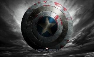the film, captain America, shield