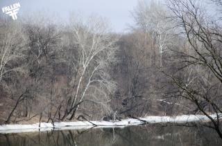 Северский, Донец, зима