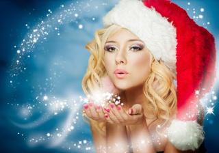 Новый год, зима, снегурочка, снег, сказочно, праздник