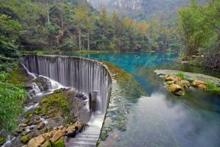 природа, водопад, фото, осень, горы, красиво