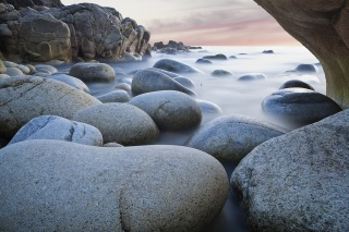 rock, stones, extract, sea, smoothness, nature