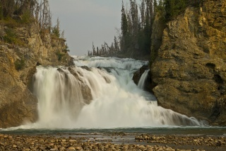Kanada, British Columbia, Kanada, Smith river falls, fort halkett provincial park