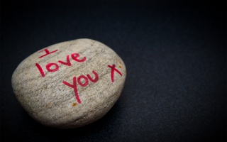 background, stone, recognition, i love you, the inscription