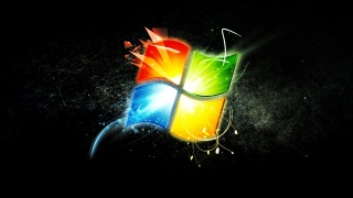 logo, windows, tapety