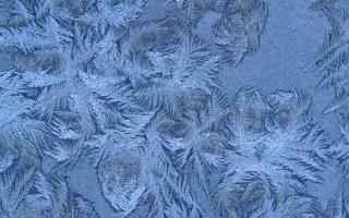 sněhové vločky, zima, vzor