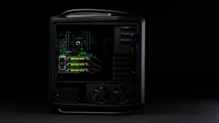 Pc, black, nvidia, computer, stylish, geforce gtx titan, Powerful