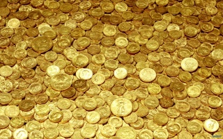 money, gold, yellow, coins