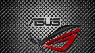 Asus, vinda, logo, background, the inscription, sign, black, Red, beauty