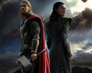 Тор, царство тьмы, Локи, молот, кинжал, братья, доспехи