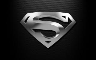 balck, Gray, shield, Superman, Silver
