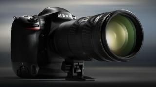 objektiv, Nikon d4, fotoaparát