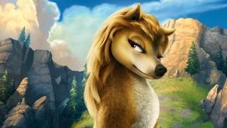 мультфільм, ліс, Кейт, альфа і омега, вовк
