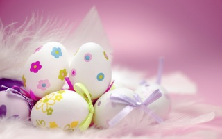 Easter, Pooh, feathers, holiday, Easter, EGGS