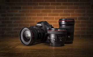 objektiv, Canon eos 5d mark ii, fotoaparát