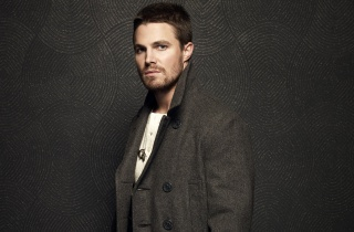 man, Stephen amell, actor, coat, Stephen amell