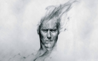 Clint Eastwood, art, Clint eastwood, quite, head