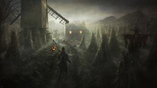 art, dům, mlýn, strašák, člověk, halloween