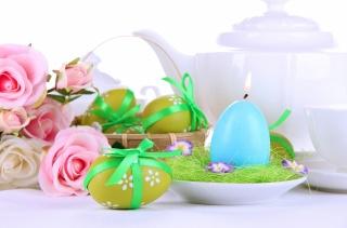 kávovar, velikonoční, jaro, velikonoce, svátek, Svíčka, VEJCE