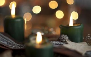 pozadí, svíčky, svátek