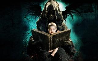 демон, крылья, Азбука смерти, Азбука смерти, Призрак