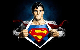 джозеф кларк кент, комікс, Супермен, костюм, Супермен, лого