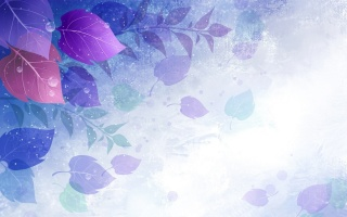 foliage, blue, white, Green, lilac