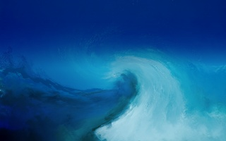 background, wave, Texture, blue, painting, blue