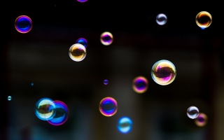 soap, the colors of the rainbow, soap bubbles, beautiful