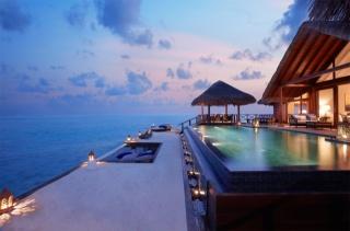 басейн, Мальдіви, Готель, інтер'єр