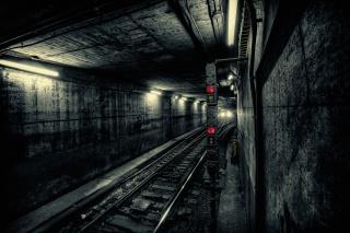 город, тоннель, метро, подземка, поезд, свет