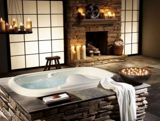 Дизайн, інтер'єр, вілла, ванна, Стиль, будинок
