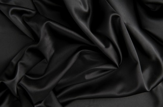 black, fabric, silk, texture, satin, folds